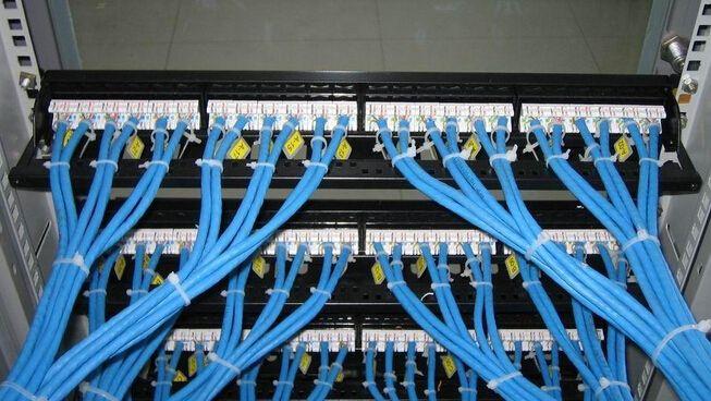 新万博网页某设计公司办公楼弱电工程