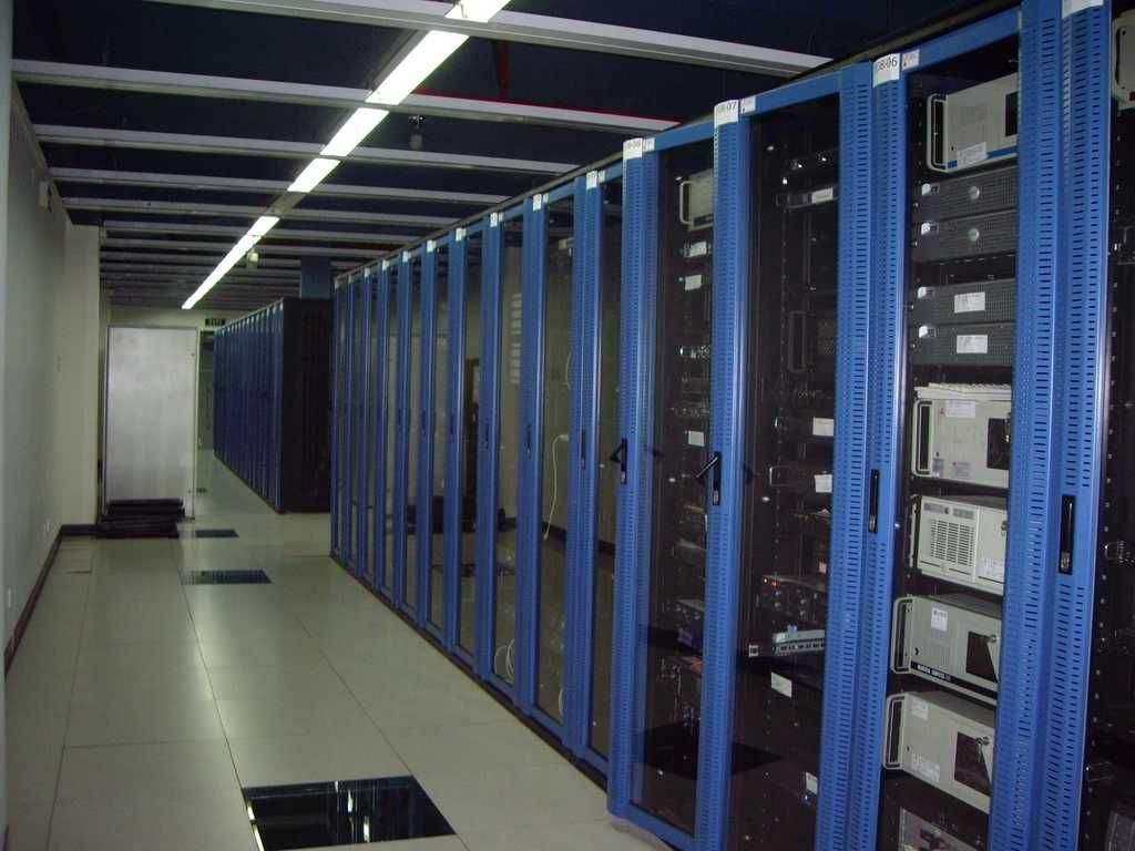新万博网页某呼叫中心综合布线工程案例