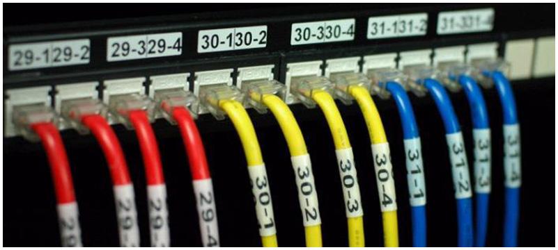端口标签-统一设置防水标签、清晰美观,便于线缆查找及跳线跳接。