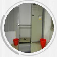 普通空调寿命短、容易出现停机、漏水等现象