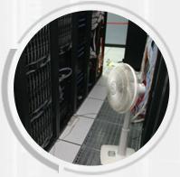 机房布局不合理高温季节机房温度过高容易出现故障